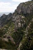 Montanha de Monserrate Imagens de Stock Royalty Free