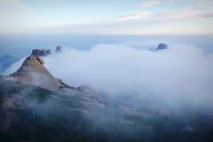 Montanha de Monserrate na Espanha Imagens de Stock Royalty Free