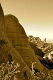 Montanha de Montserrat Fotografia de Stock Royalty Free