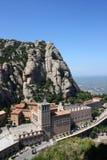 Montanha de Montserrat imagem de stock