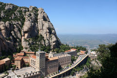 Montanha de Montserrat imagens de stock