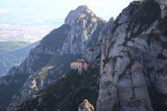 Montanha de Montserrat em Catalonia, Spain Imagens de Stock