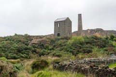 Montanha de Mynydd Parys Fotos de Stock Royalty Free