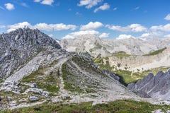 Montanha de Nordkette em Tirol, Innsbruck, Áustria. foto de stock royalty free