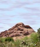 Montanha de Papago Foto de Stock Royalty Free