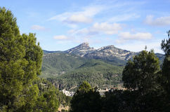 Montanha de Peñagolosa Fotografia de Stock Royalty Free
