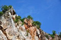 Montanha de pedra Imagens de Stock