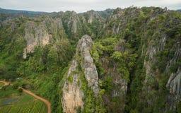 Montanha de pedra Fotos de Stock