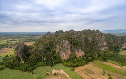 Montanha de pedra Fotografia de Stock Royalty Free