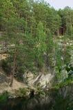 Montanha de pedra do talco Foto de Stock Royalty Free