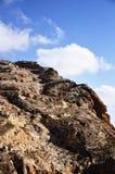 Montanha de pedra em Maaloula Fotos de Stock