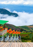 Montanha de Phutabberk, Tailândia Foto de Stock