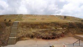 Montanha de queimadura de Yanardag vídeos de arquivo