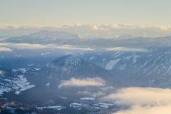 Montanha de Radling Imagens de Stock Royalty Free