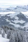 Montanha de Rigi, Switzerland Imagem de Stock