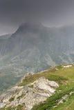 Montanha de Rila perto dos sete lagos Rila Imagem de Stock Royalty Free