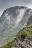 Montanha de Rila perto dos sete lagos Rila Fotos de Stock Royalty Free
