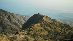 Montanha de Rinjani em Indonésia foto de stock