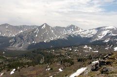 Montanha de Rockie elevada Fotografia de Stock Royalty Free