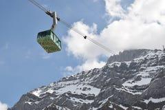Montanha de Saentis Vista em montanhas Foto de Stock Royalty Free