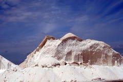 Montanha de sal Imagens de Stock Royalty Free