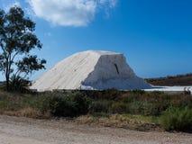 Montanha de sal no Algarve Fotos de Stock Royalty Free