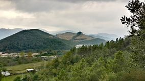 Montanha de Samanlı & x28; Turkey& x29; Fotografia de Stock