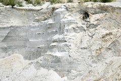Montanha de Sandy da areia branca foto de stock royalty free