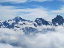 Montanha de Schilthorn imagens de stock