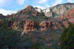 Montanha de Sedona Imagens de Stock Royalty Free