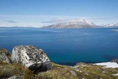 Montanha de Sermitsiaq Imagens de Stock