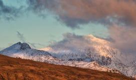 Montanha de Snowdom foto de stock royalty free
