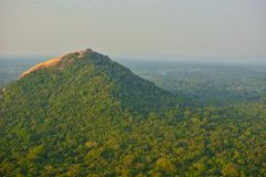 Montanha de Sri Lanka Sigirya imagens de stock royalty free