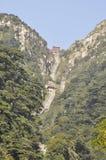 Montanha de Taishan na porcelana Imagem de Stock Royalty Free