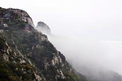 Montanha de Taishan na porcelana fotos de stock royalty free