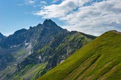 Montanha de Tatra do verão, Polônia imagem de stock royalty free