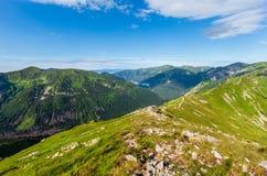 Montanha de Tatra do verão, Poland foto de stock
