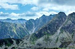 Montanha de Tatra do verão, Poland imagens de stock