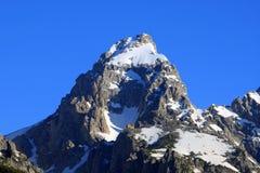 Montanha de Teton   foto de stock