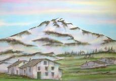 Montanha de Torena, Italy Foto de Stock Royalty Free