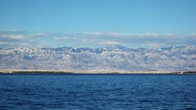 Montanha de Velebit Imagem de Stock Royalty Free