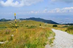 Montanha de Vitosha Fotos de Stock Royalty Free