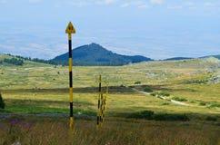 Montanha de Vitosha Imagens de Stock Royalty Free