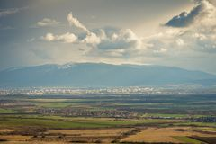 Montanha de Vitosha, Sófia, Bulgária fotos de stock royalty free
