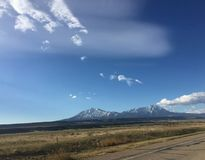 Montanha de Walsenburg Colorado imagens de stock royalty free