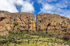 Montanha de Waterberg Fotografia de Stock Royalty Free