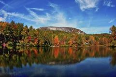 Montanha de Whiteside imagens de stock