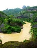 Montanha de Wuyi imagens de stock
