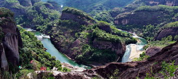 Montanha de Wuyi Imagens de Stock Royalty Free