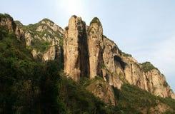 Montanha de Yandang, Wenzhou, Jhejiang, China fotografia de stock